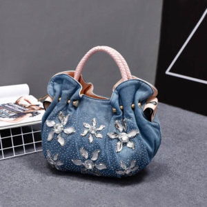 Women's Denim Vintage Shoulder Bags